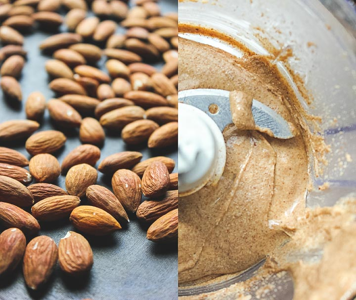 Making your own almond butter is simple and budget friendly! Homemade almond butter with roasted almonds. All you need is almonds!