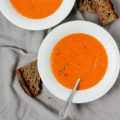 A simple vegan red lentil soup that will become a pantry staple meal in your house. Quick and easy to prepare with minimal ingredients.