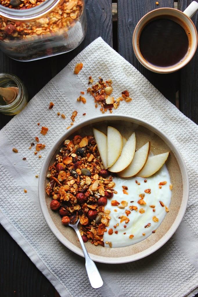 Crunchy Apricot & Buckwheat Granola | happy hearted kitchen