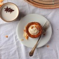 Vegan Squash Tarts with Ginger, Coconut and a Pecan Oat Crust