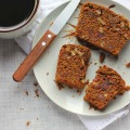 Vegan Molasses Loaf with Dates, Walnuts + Olive Oil