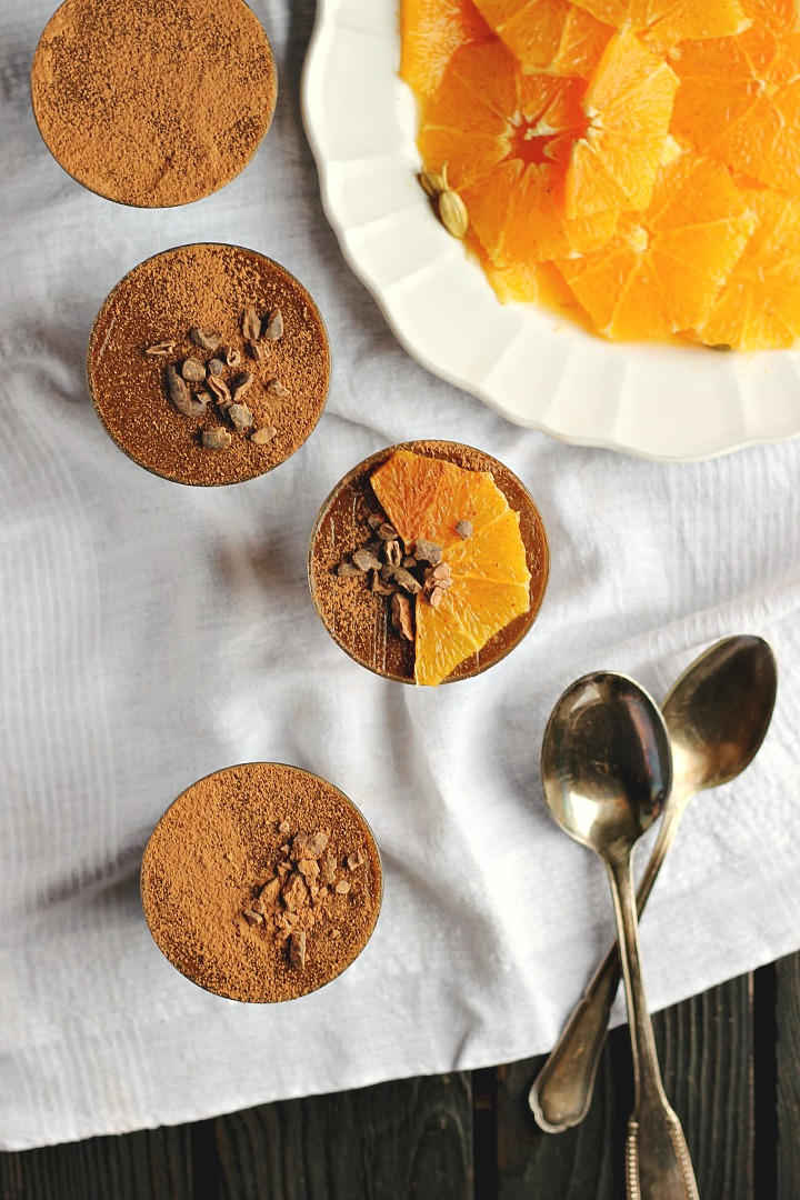 Raw Chocolate Mousse + Marinated Oranges ⎮ happy hearted kitchen