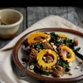 Warm Autumn Panzanella with Cinnamon Cider Dressing