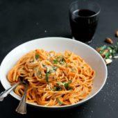 Smoky Tomato Almond Pasta Sauce