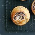 Chocolate, Hazelnut + Olive Oil Buns