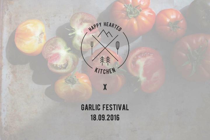 Revelstoke Garlic Festival ⎮ happy hearted kitchen