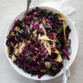 Kale, Apple + Red Cabbage Slaw