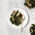 Holiday Kale Salad with Spiced Cider Dressing