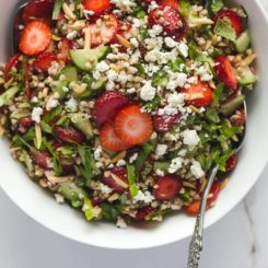 Strawberry Buckwheat Tabbouleh (+ See You Soon!)